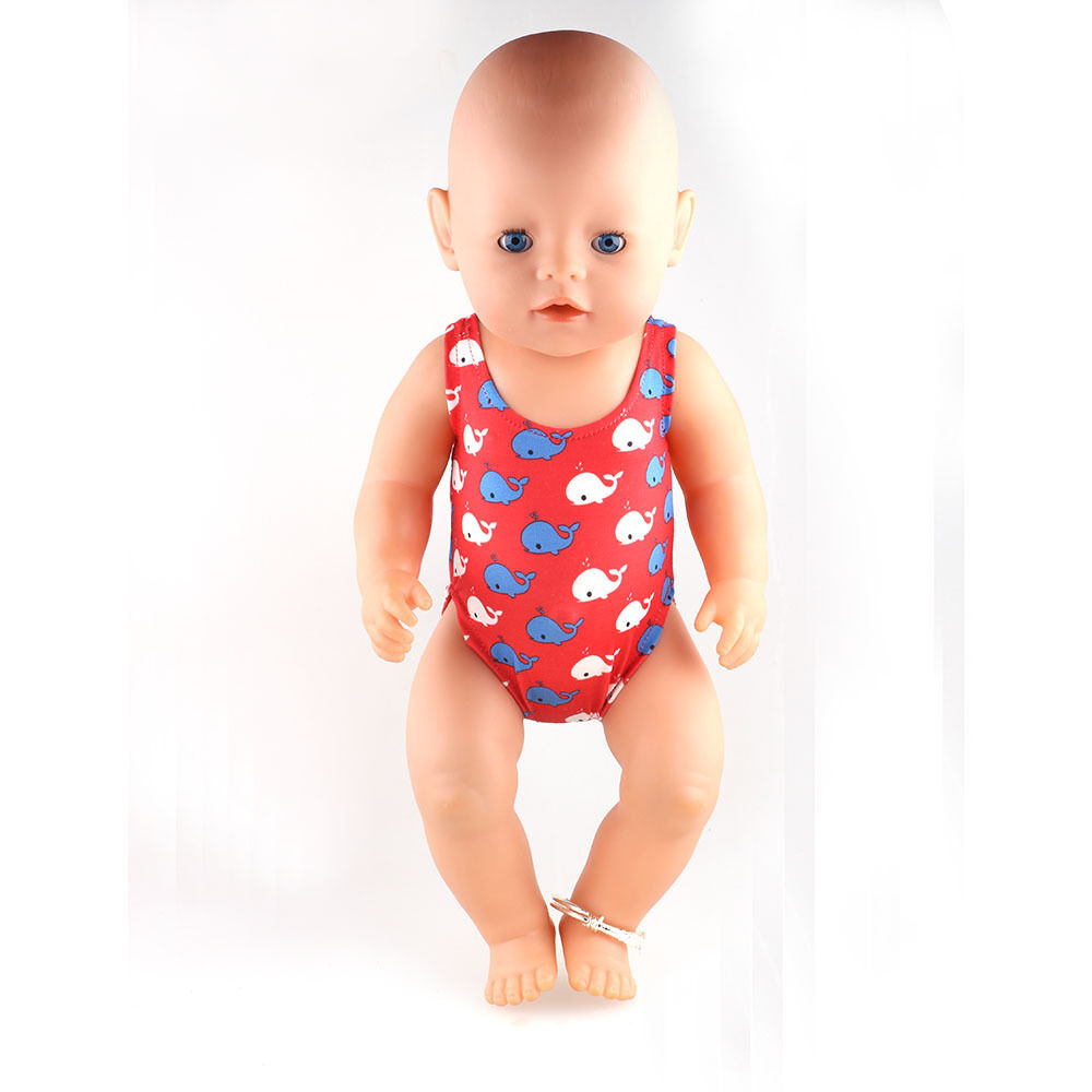 Baby Born Zapf Creation Swim Swimming Costume Outfit For 43cm Baby