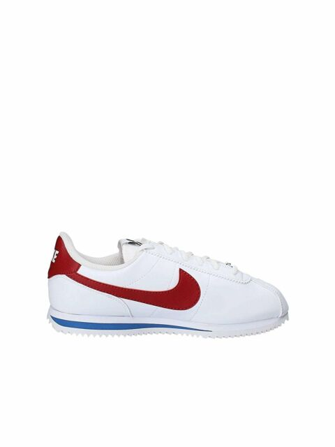 Nike Cortez Basic SL White/Varsity Red (GS) (904764 103)