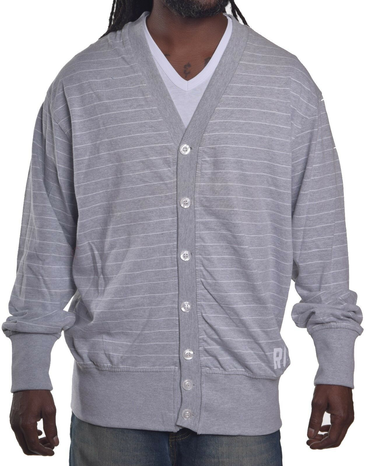 Rocawear Men's Casual Cardigan Sweater Choose Size & Color M ...