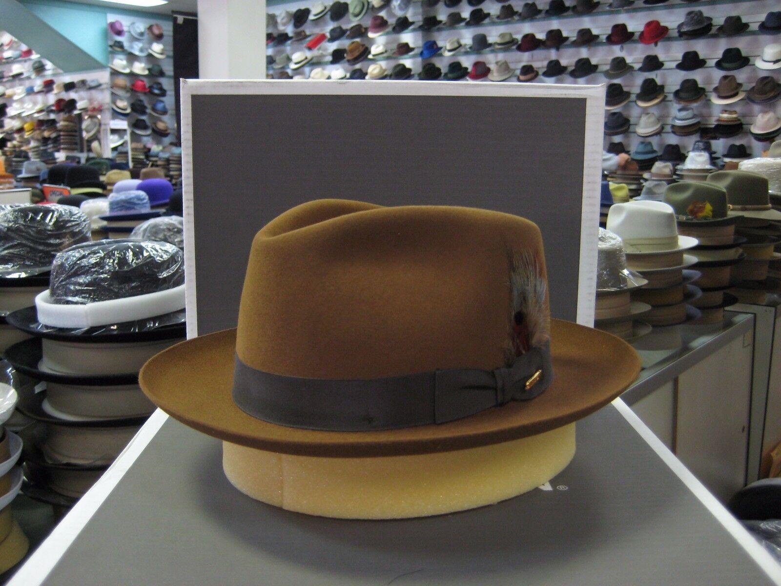 Stetson Chatham Fur Felt Fedora Hat ec4a22ce88b