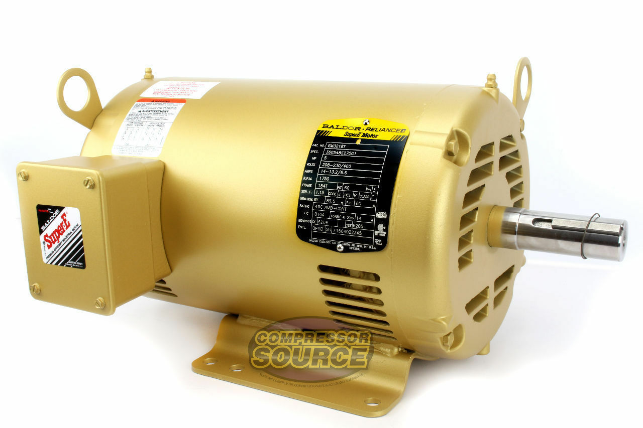 s l1600 5 hp 3 phase motor ebay  at webbmarketing.co