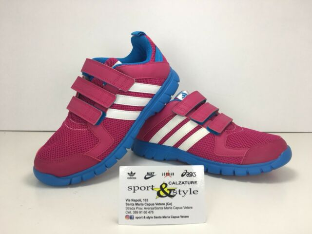 SCARPE N 33 Uk 1 ADIDAS PERFORMANCE STA FLUID 3 CF K SNEAKERS BASSE ART. B23936