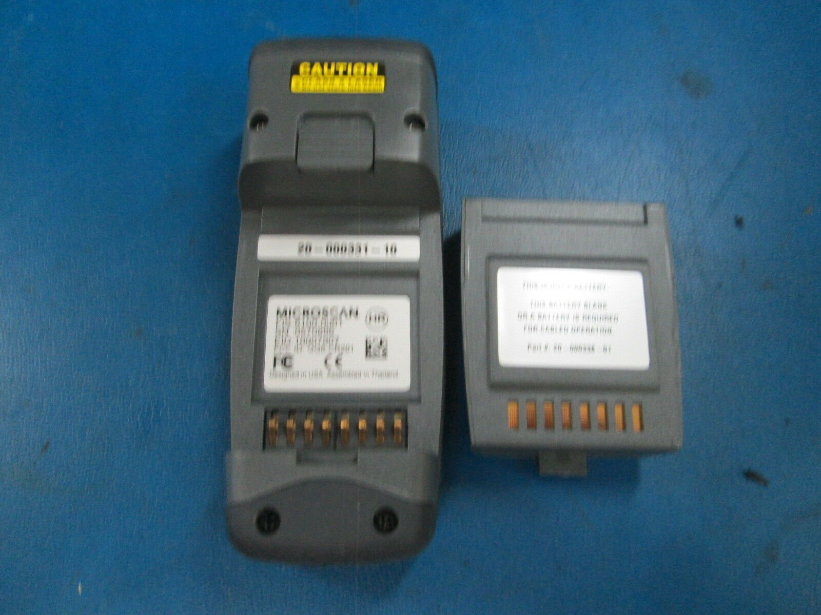 Microscan Quadrus Ms-q Imager Scanner Barcode Reader Fis-6100-0001 ...