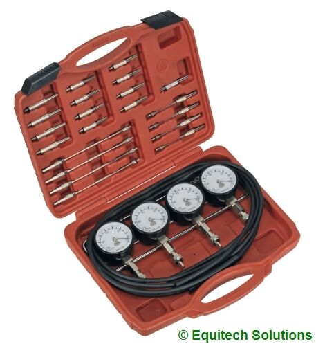 Sealey Tools VS209 Carburettor Synchronizer Balancer Set Motorbike Motorcycle