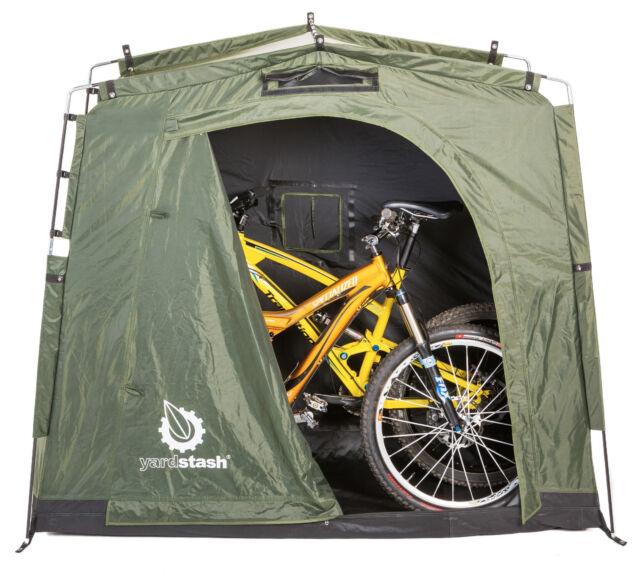 The YardStash III Bicycle Storage u0026 Outdoor Storage  sc 1 st  eBay & YardStash III YSLH06 Space Saving Outdoor Bike Storage Garden Pool ...
