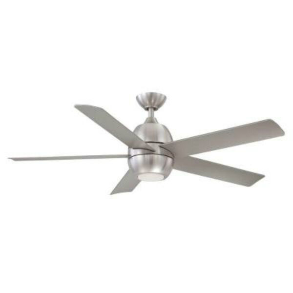 Hampton bay yg354 bn greco ii 52 in brushed nickel led ceiling fan new other lowest price aloadofball Image collections