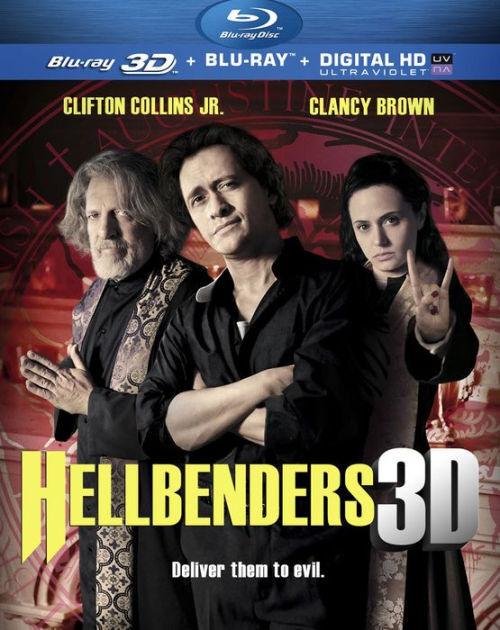 HELLBENDERS (3D) (Clifton Collins, Jr.) - BLU RAY - Region A - Sealed