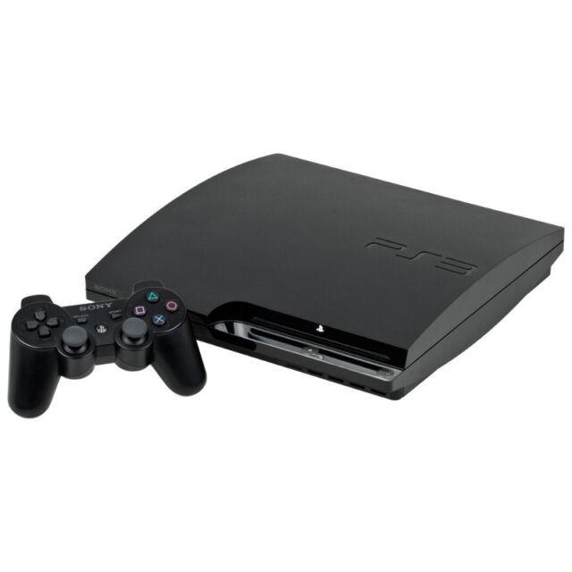 Sony PlayStation 3 Slim - 320 GB - Black Console