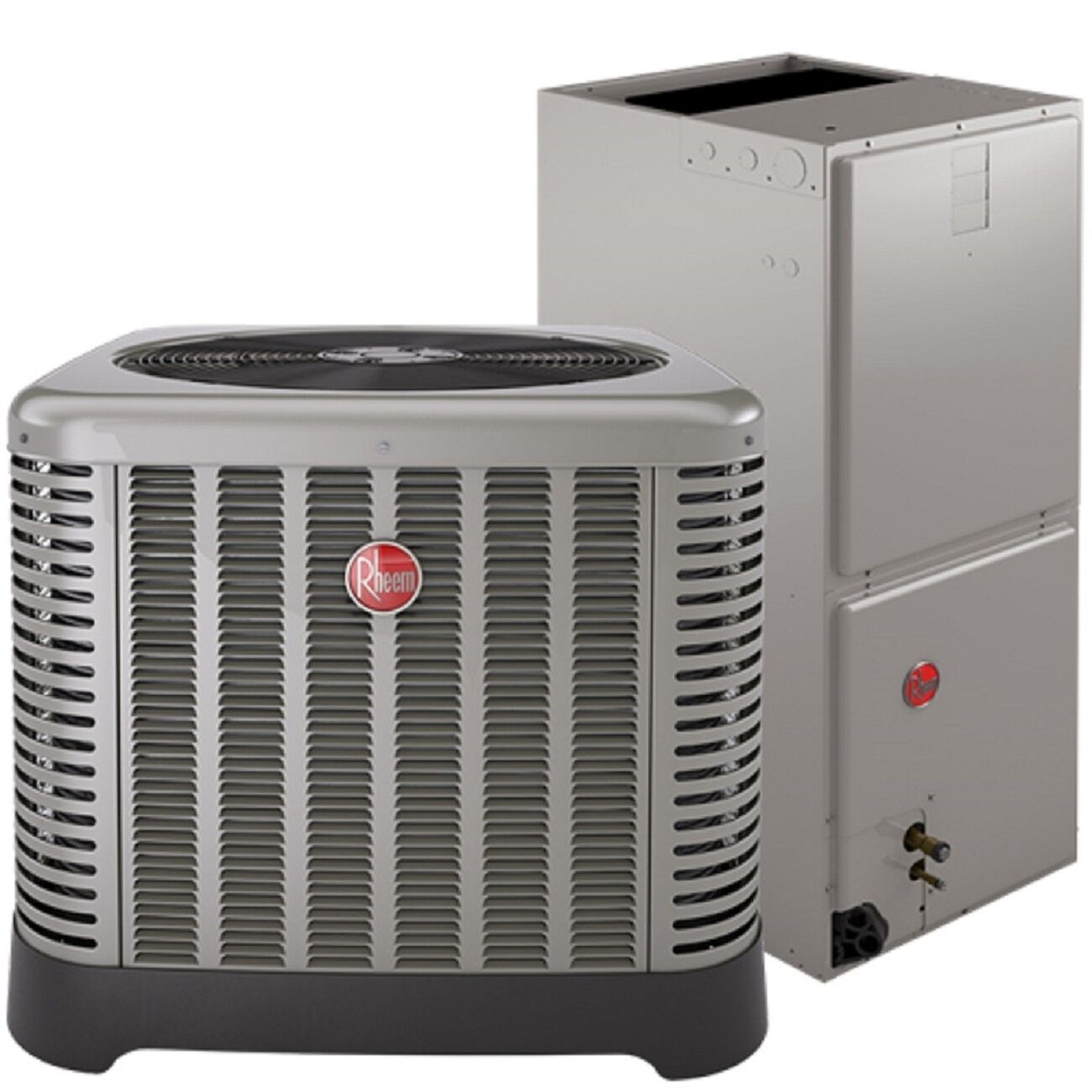 central air conditioning complete turn key system rheem 14 seer 5