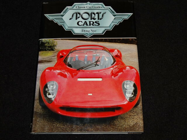 SPORTS CARS - CLASSIC CAR GUIDES BY DOUG NYE - DATED 1980 1st EDITION