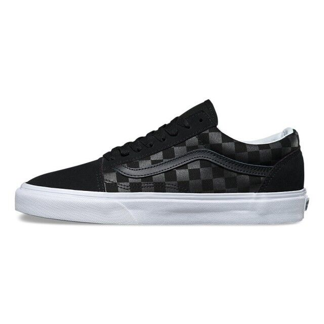 vans old skool all black ebay