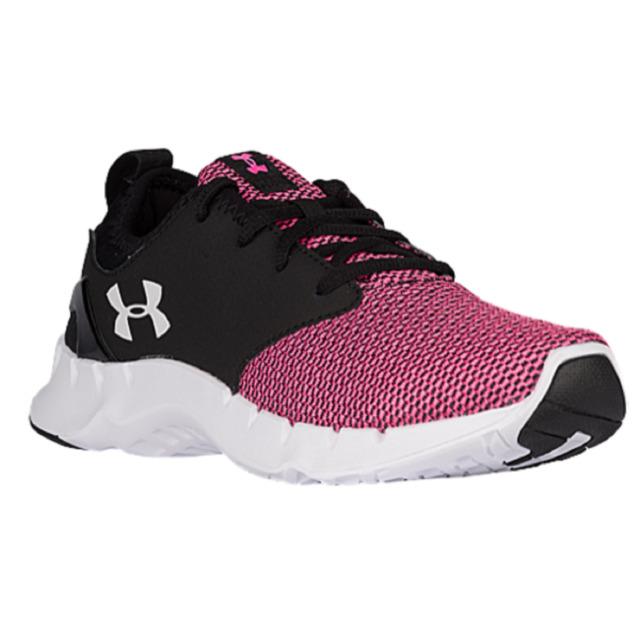 UNDER ARMOUR Ladies 'FLOW SOLID' Running Shoe-Pink/Blk/White Sz