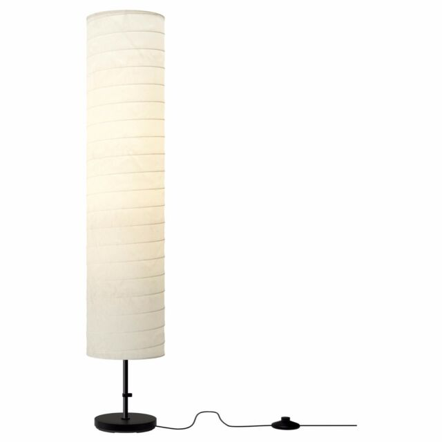 Ikea holmo floor lamp light white rice paper shade modern sale ikea holmo floor lamp light white rice paper shade modern contemporary aloadofball Image collections