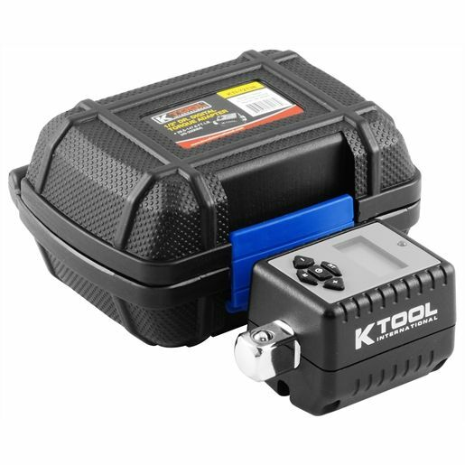 KTI 12 Dr Digital Torque Wrench Adapter Tool With Storage Case