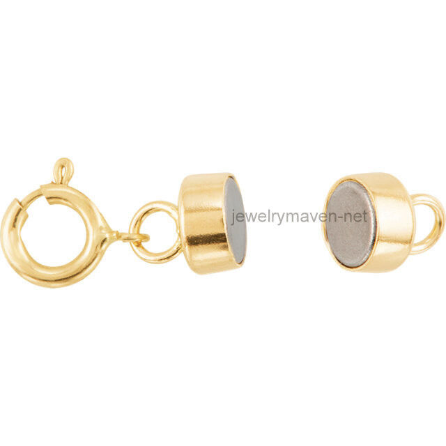 14k GF Gold Filled Magnetic Clasp Converter Yellow Bracelet Necklace