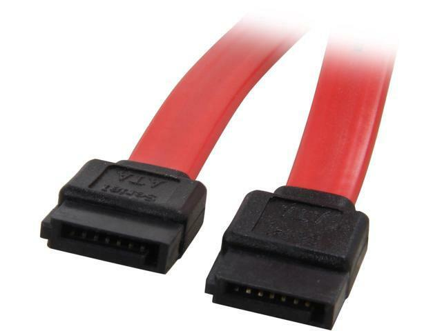 Coboc Model SC-SATA3-36 SATA III 6Gb/s Data Cable (Red) for Free