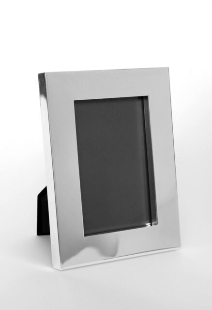 Photo Picture Frame Metal Silver Plated 10 X15 5 1/8x7 1/8in ...
