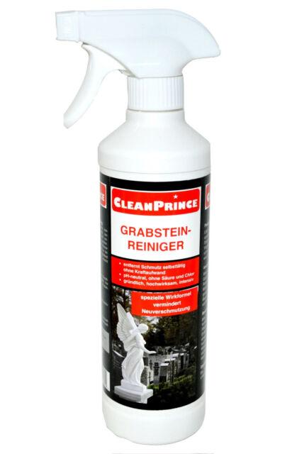CleanPrince Grabstein-Reiniger 500 ml Moos Algen Naturstein Grabsteinreiniger