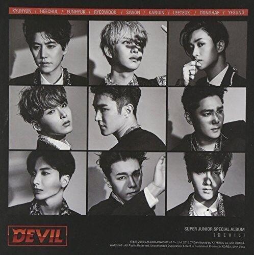 Super Junior - Devil [New CD] Asia - Import