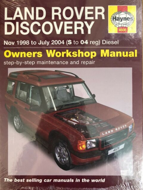 land rover discovery diesel service and repair manual 1998 to 2004 rh ebay com 2004 land rover discovery rave manual 2004 land rover discovery manual download