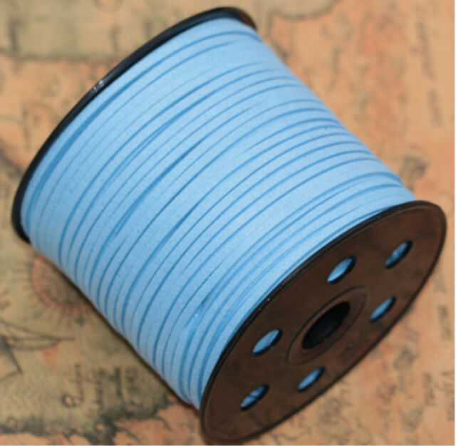 10/100yd 3mm Suede Leather String Jewelry Making Thread Cords ...