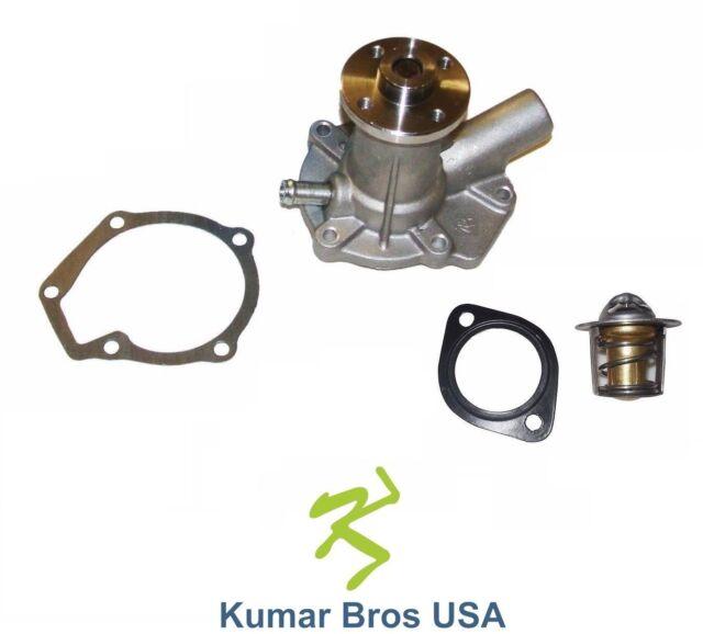 Kubota Tractor Thermostat : Kubota d water pump with thermostat gasket ebay