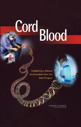 Hsp-Cord Blood:  BOOK NEW