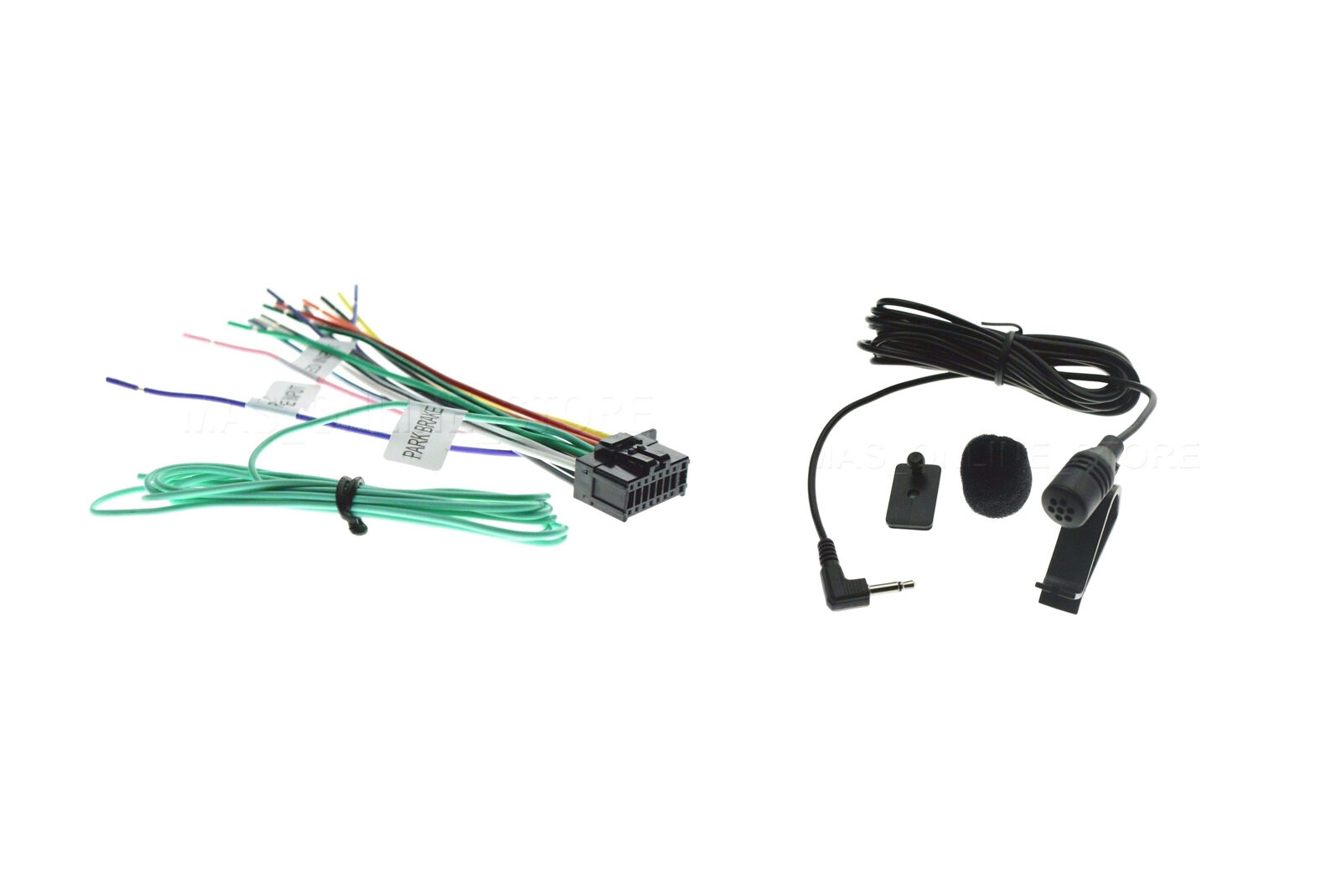 s l1600 16pin wire harness & microphone for pioneer avic 8200nex Wire Harness Assembly at soozxer.org