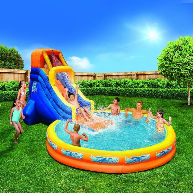 Banzai Spring Summer Toys The Plunge Water Slide
