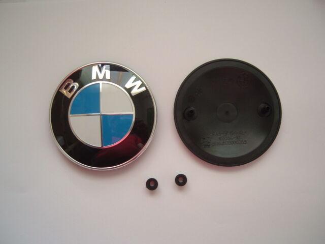 bmw emblem logo f r motorhaube e90 e91 lci 8132375 ebay. Black Bedroom Furniture Sets. Home Design Ideas