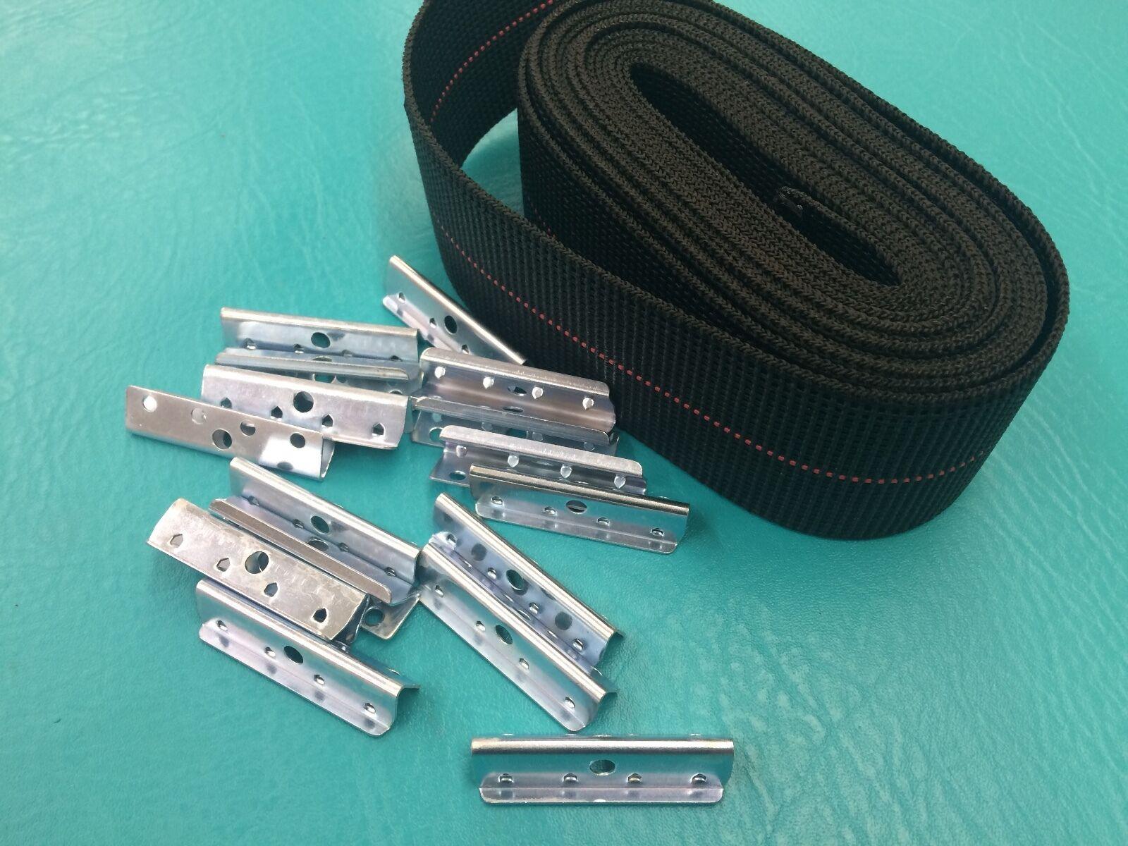 Webbing Repair Kit Clips Fagas Strap PIRELLI Kofod Larsen