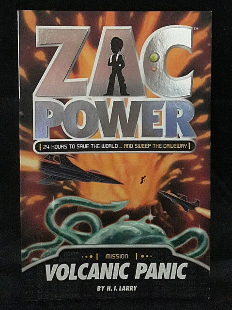 Zac Power: Volcanic Panic by H. I. Larry (Paperback, 2008)