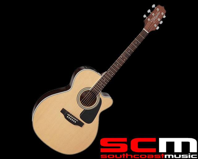 RRP$599 Takamine ED3NCNS NEX Acoustic-Electric Guitar With Pickup Natural