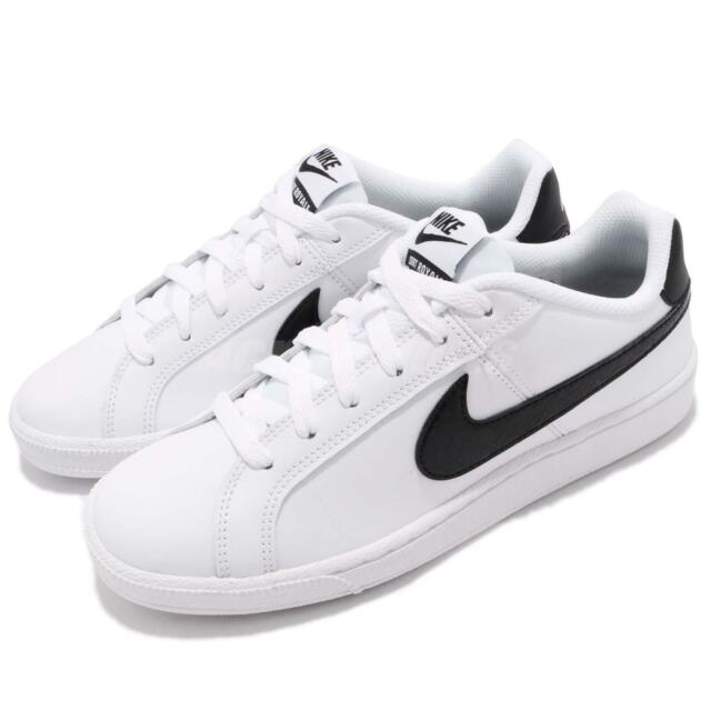NIKE WMNS COURT ROYALE sneakers donna bianco/nero 749867111