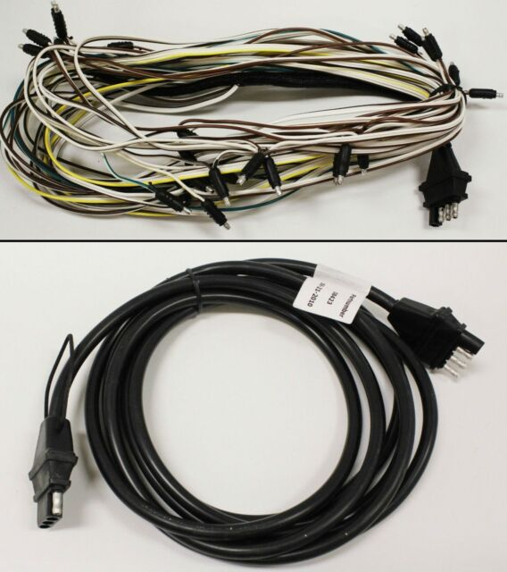 triton 08427 snowmobile trailer wire harness with 08423 tongue rh ebay com 7 Prong Trailer Wiring Diagram 5 Pin Trailer Wiring Harness