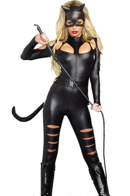 Catwoman fancy dress cheap