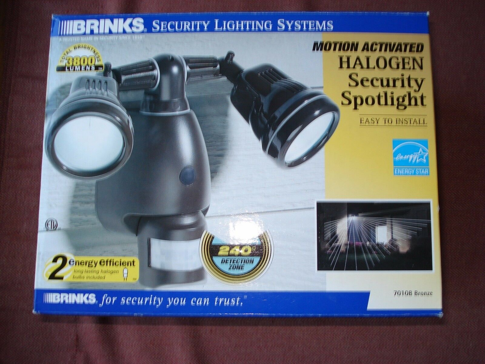 Brinks security lighting systems motion activated halogen picture 1 of 2 aloadofball Images