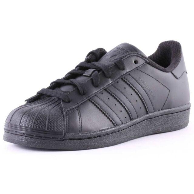 ADIDAS Originals Superstar Foundation Nero Scarpe Sneaker af5666