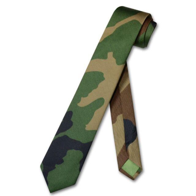 Covona mens dark green army camouflage necktie military skinny covona mens dark green army camouflage necktie military skinny 25 neck tie ccuart Images