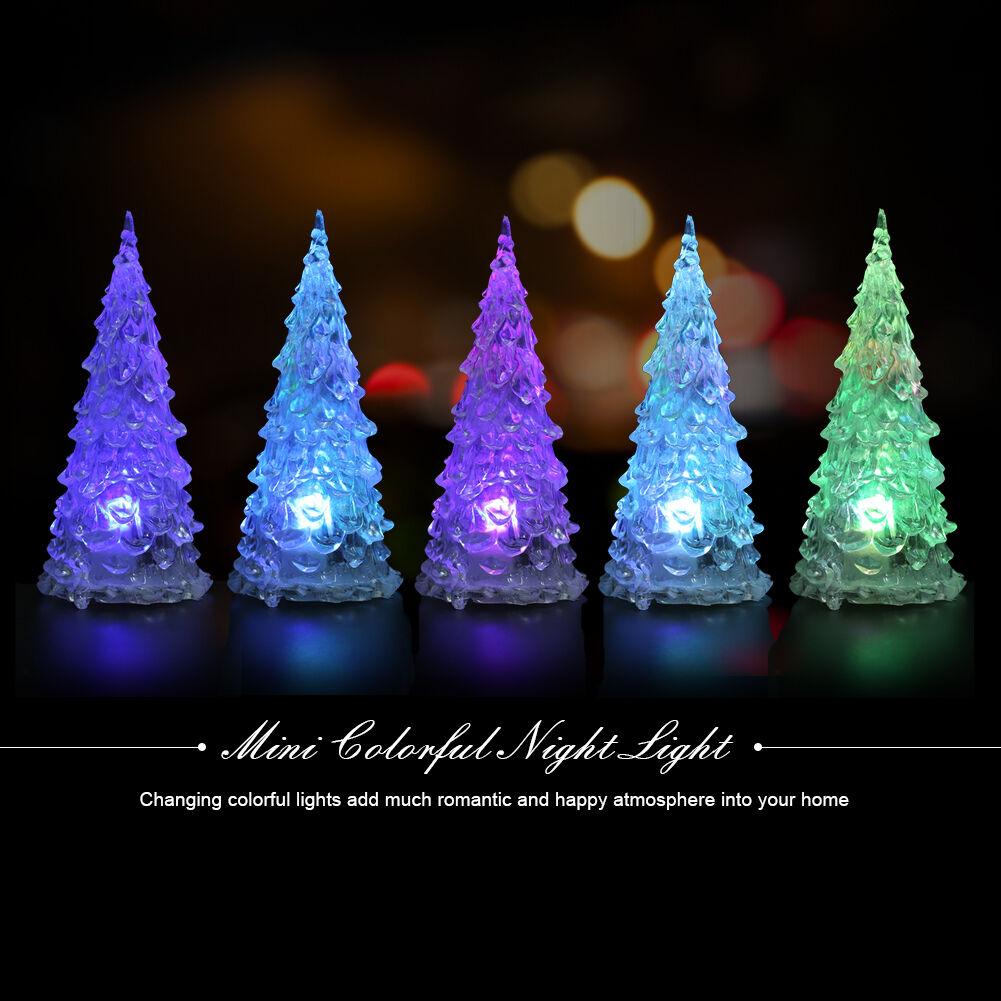 Color Changing Christmas Tree