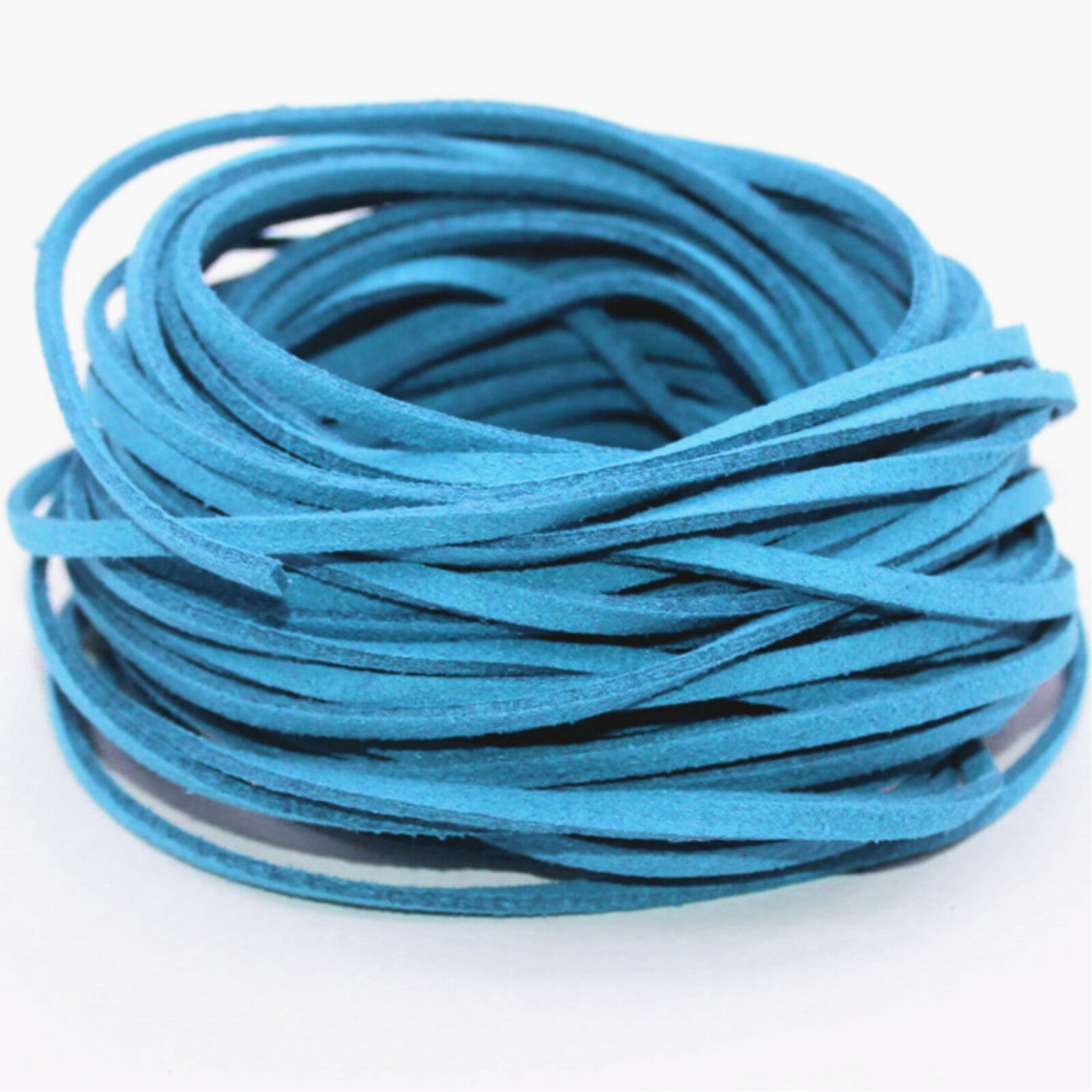 10yd Wholesale 3mm Suede Leather String Jewelry Making Bracelet DIY ...