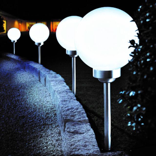 bonetti solaire led boule de jardin ø 25 cm le décorative außenle
