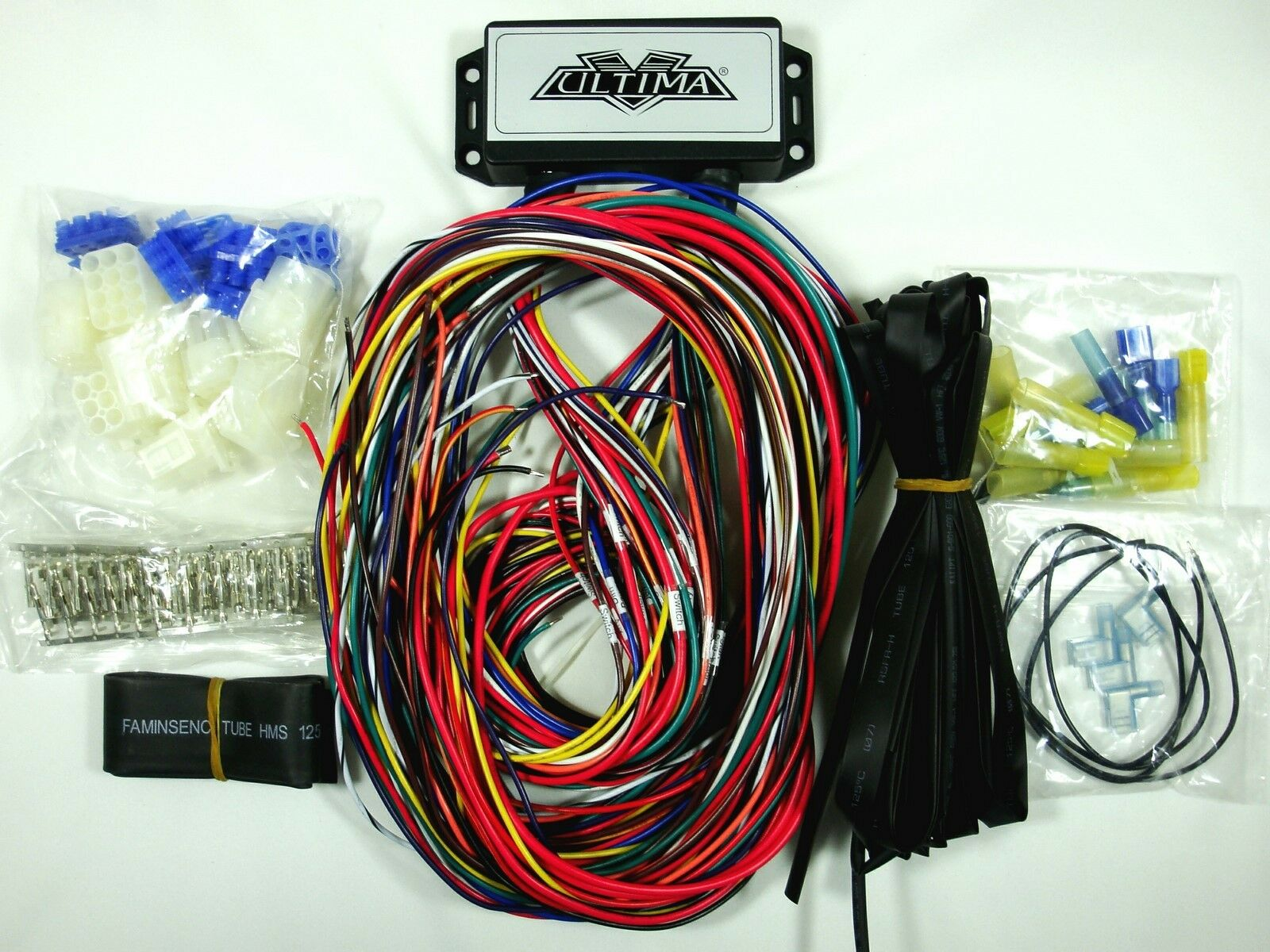 s l1600 ultima plus compact electronic wiring harness kit bobber chopper Basic Chopper Wiring at webbmarketing.co