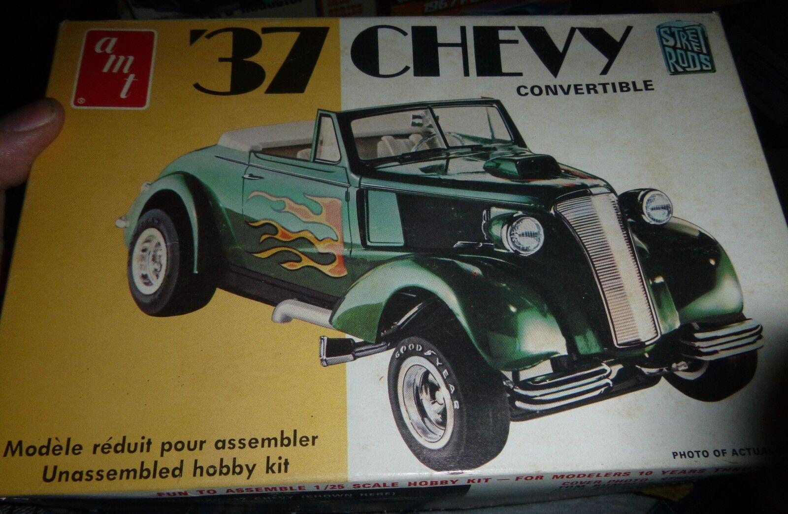 AMT 1959 Corvette Street Rods Series Vintage Model Car Mountain Kit ...