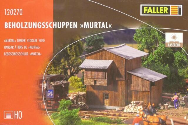 """Faller 120270 H0 - Beholzungsschuppen """" Murtal """" NEU & OvP"""