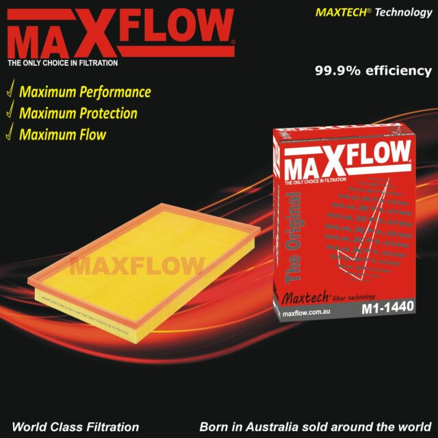 Fit Holden Vectra JS V6 2.6L Y26SE Air Filter Maxflow® Air Filters for Vectra