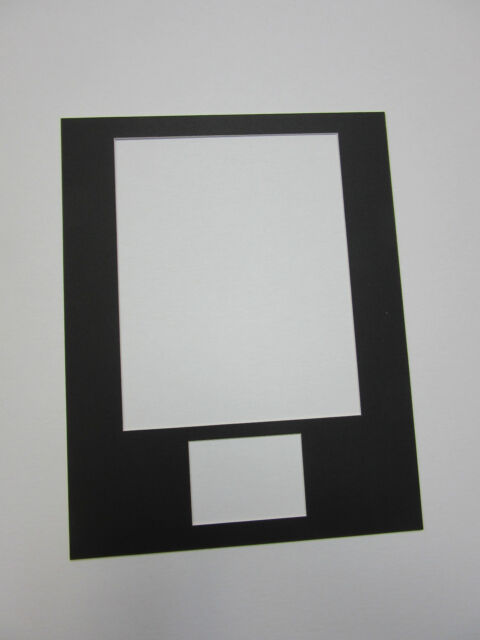 Picture Frame Mat 11x14 for 8x10 Photo and 3x5 Card Set of 10 Acid ...