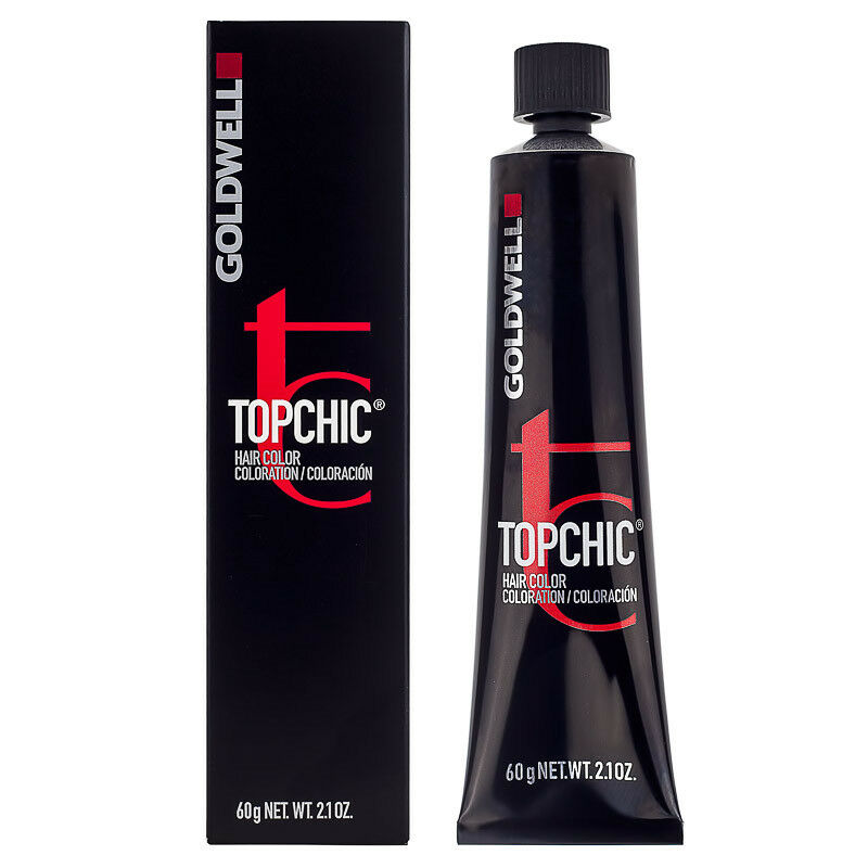 Goldwell Topchic Warm Browns Blackened Copper Silver 6ks Hair Color