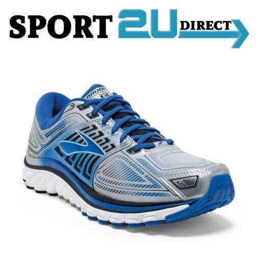 Brooks Glycerin 13 Silver Blue Black D Width Men Running Shoe 1101991D095  10.5 | eBay