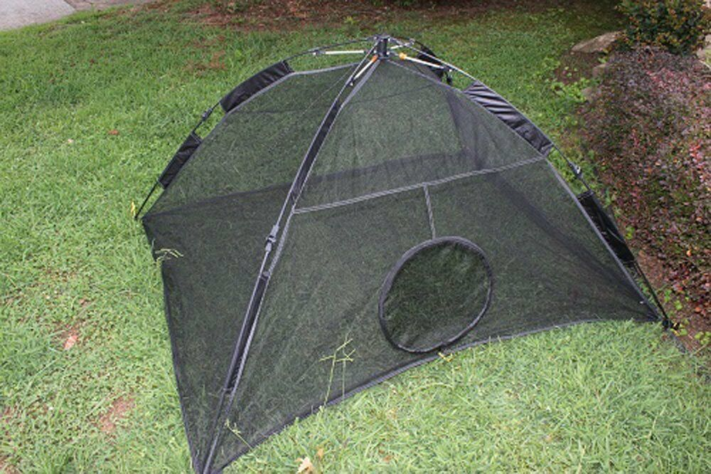 Brand new lowest price & Portable Outdoor Cat Mesh Tent Safety Enclosure Shelter Cage ...